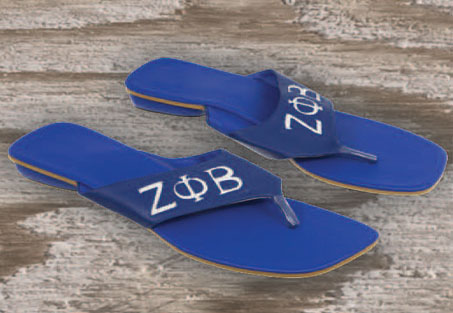 Sorority Leather Sandles